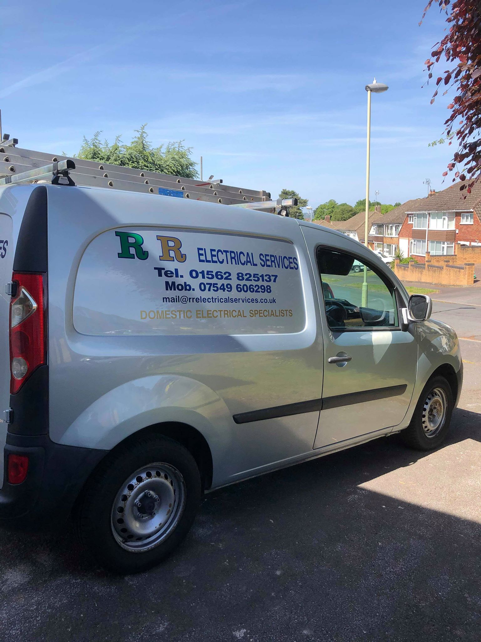 RR Electrical Services Van